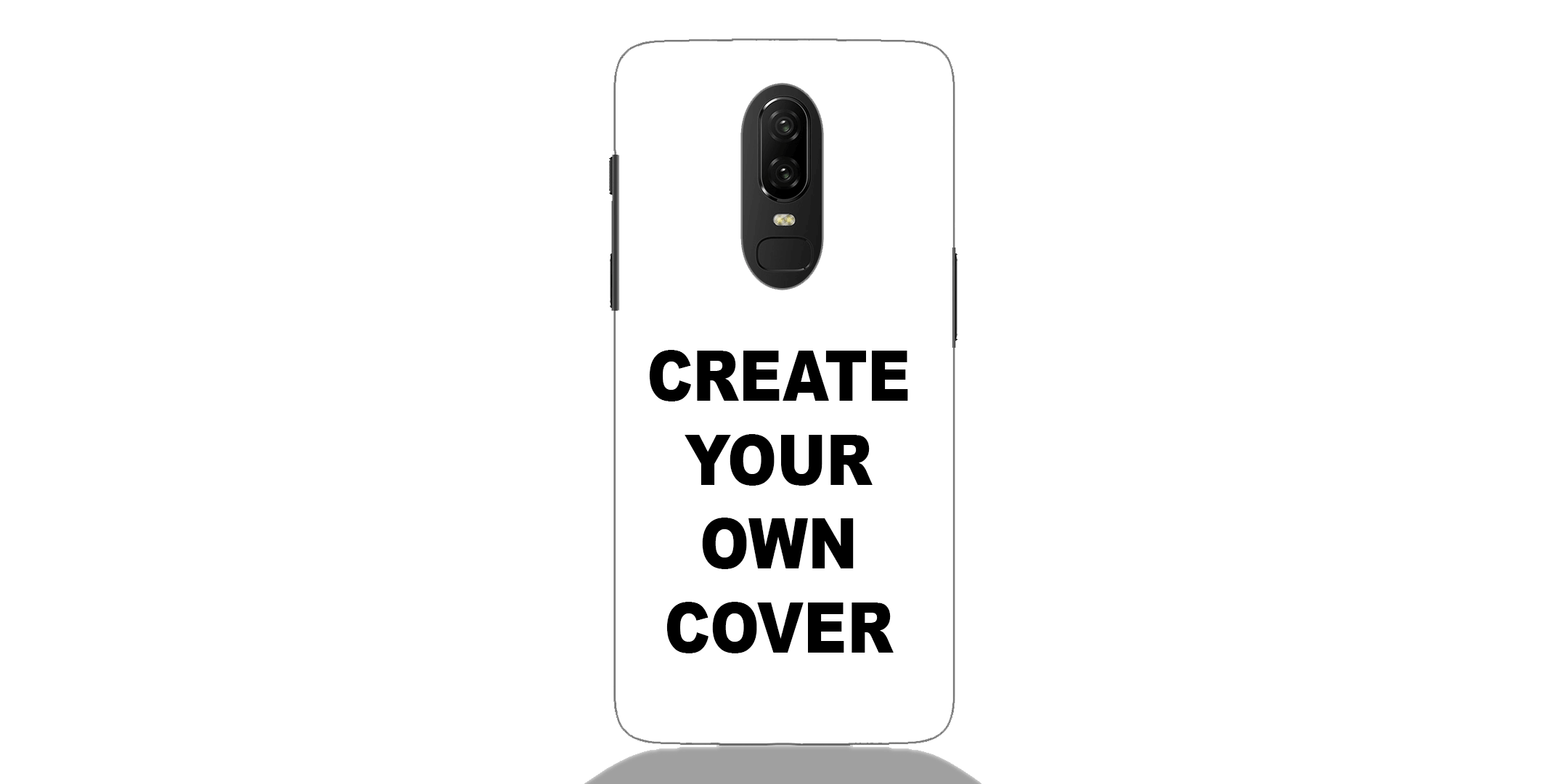 Customized One Plus 6 Back Cover