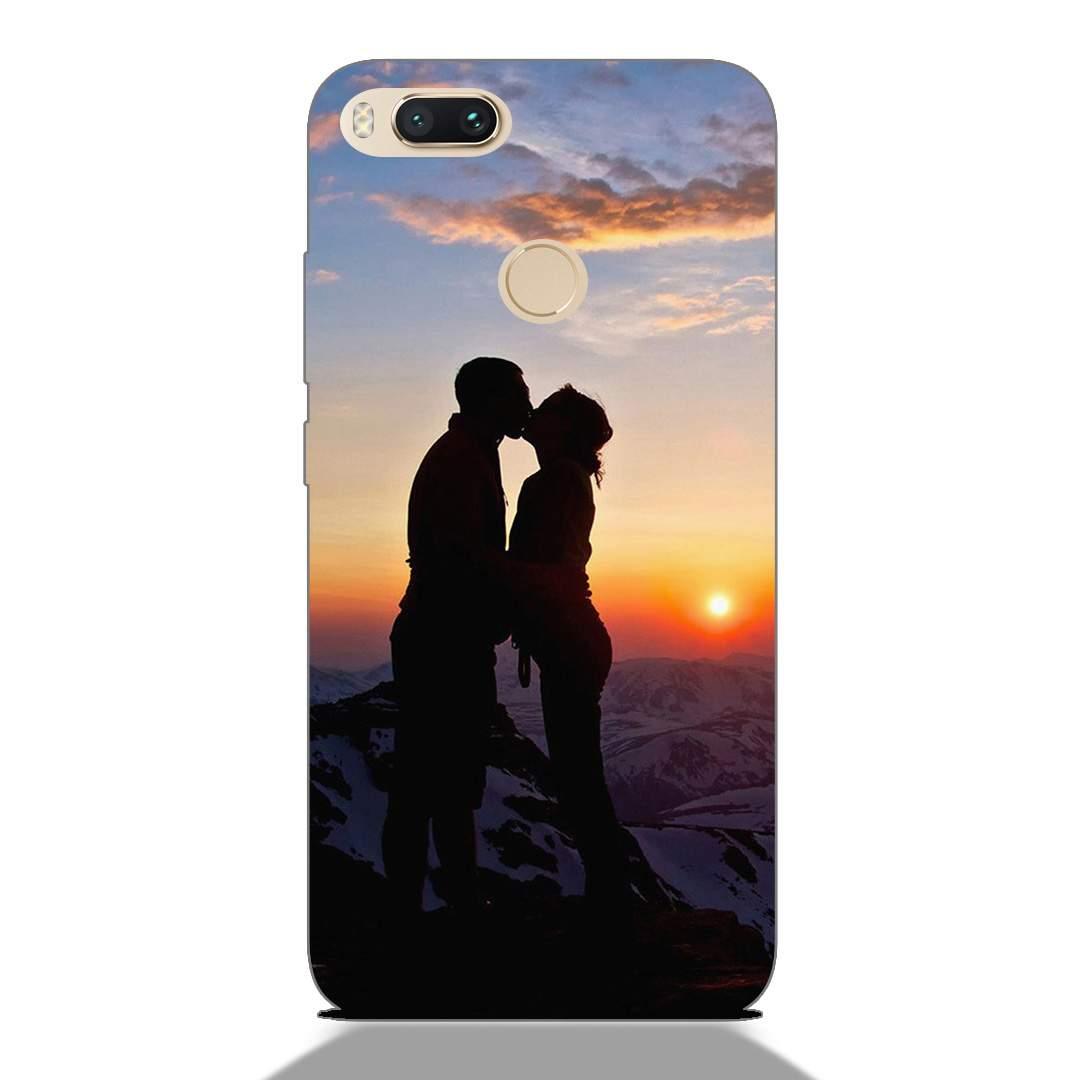 Sunset Romantic Couple Xiaomi Mi A1 Back Cover