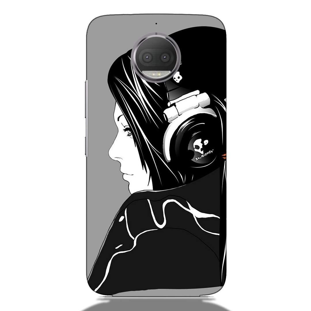 Music Lovers Girl Motorola G5s Plus Back Cover