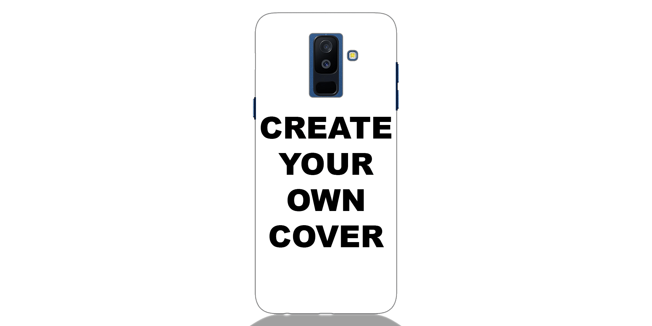 Customized Samsung A6 Plus 2018 Back Cover