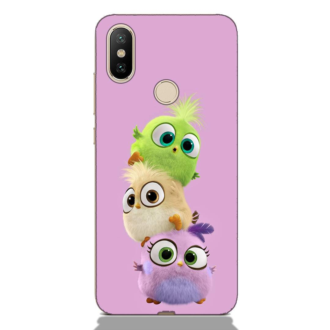 Cute Baby Birds Xiaomi Mi A2 Back Cover