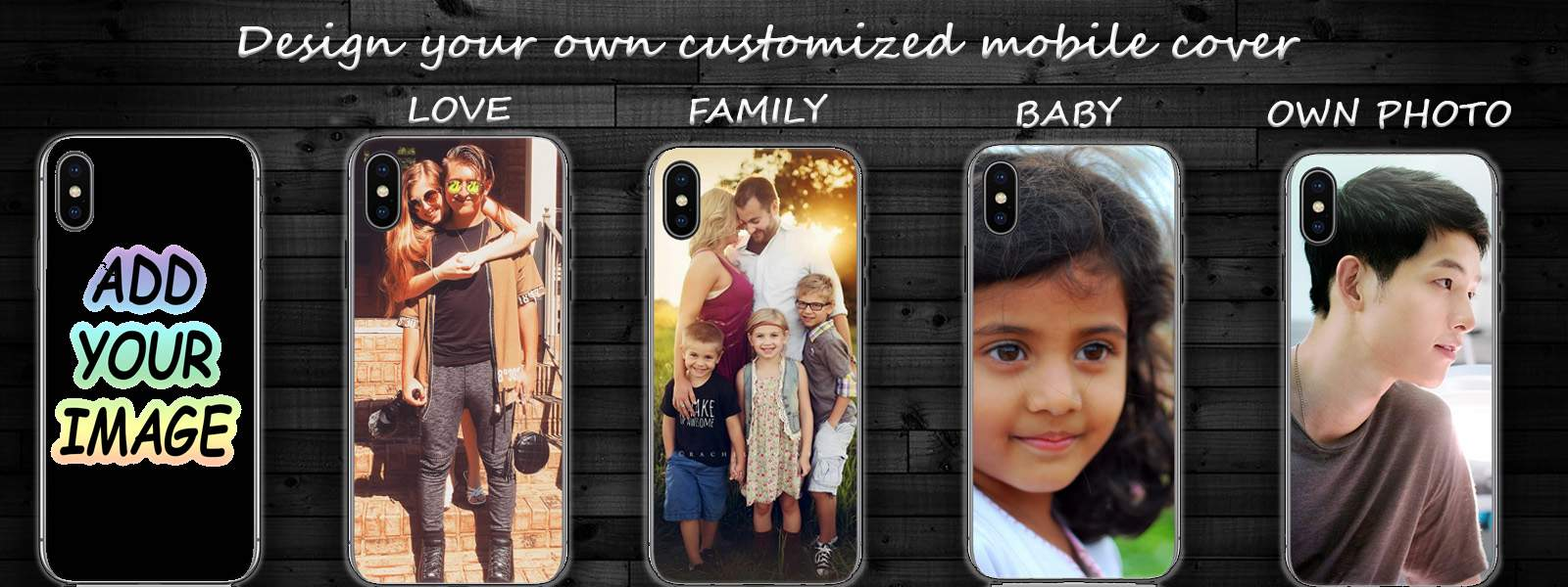 Design your own customized mobile cover or case
