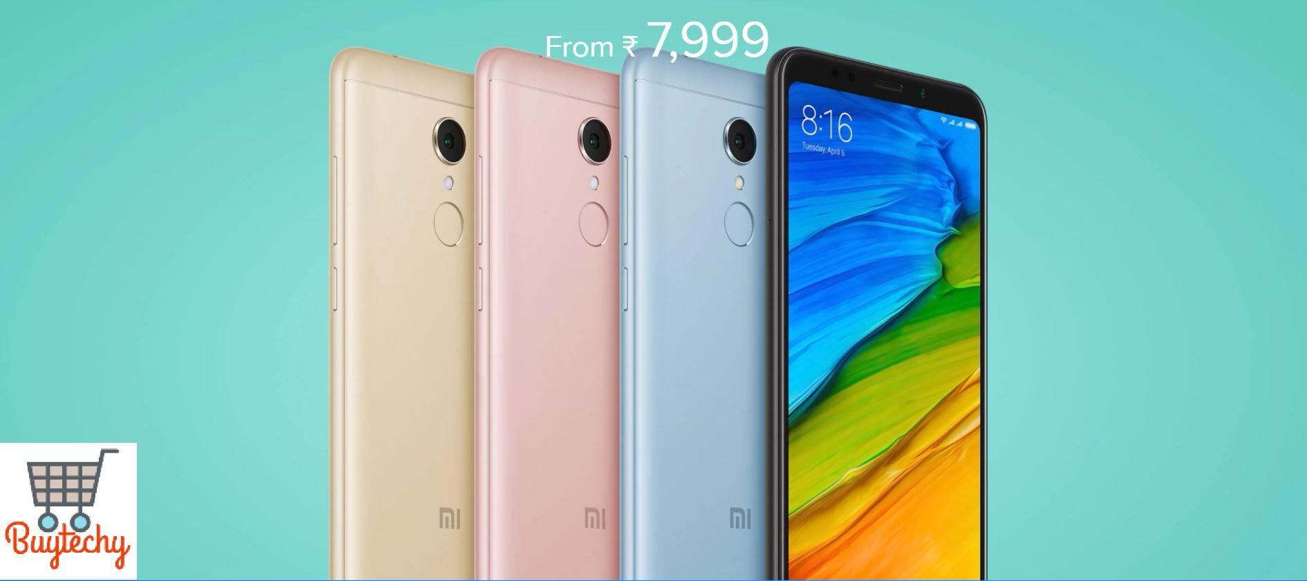 Buy Xiaomi Redmi 5 Launch New Smartphone in Budget