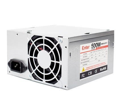 Best CPU or budget PC build under Rs 10000 |2018| - Enter E-500B Power Supply
