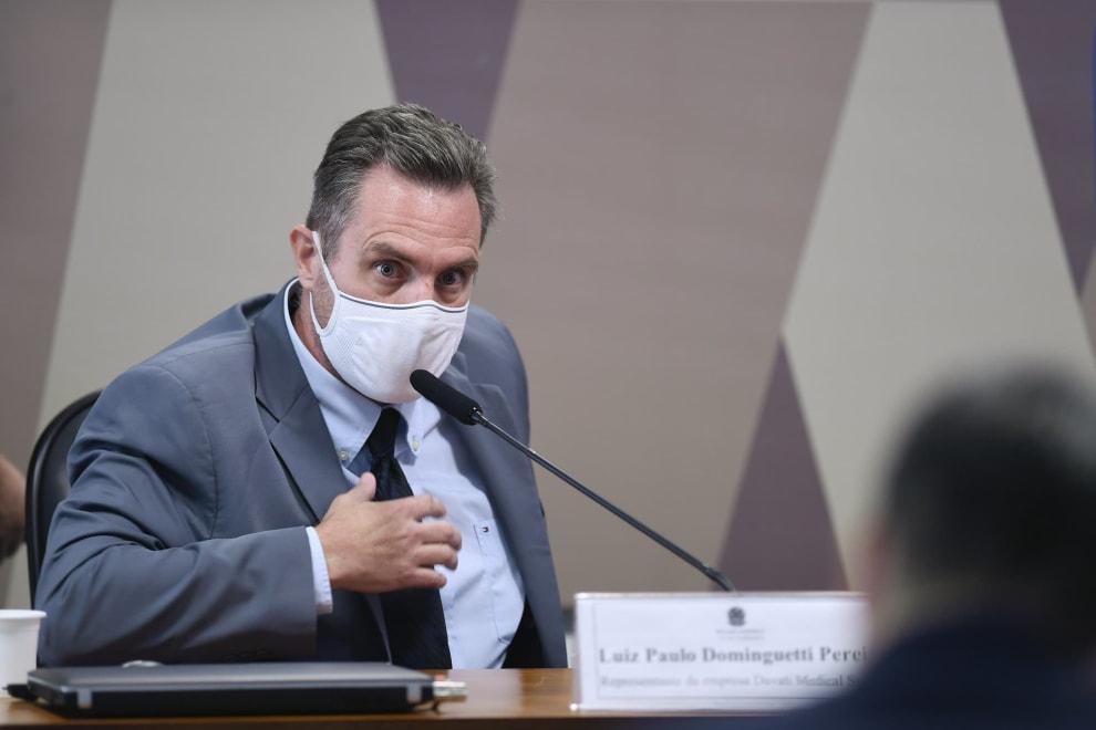 Luiz Paulo Dominguetti Pereira na CPI da Pandemia
