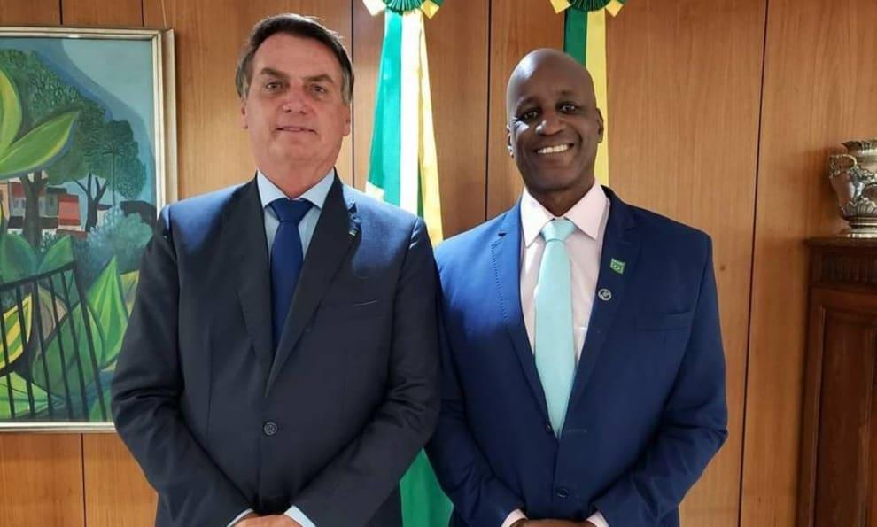 Sérgio Camargo e Bolsonaro