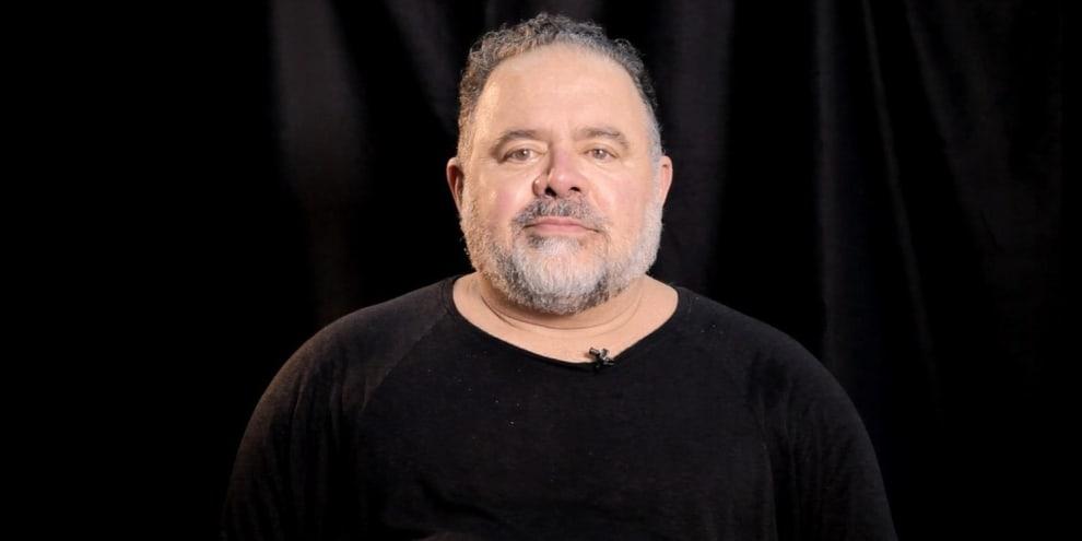 O cantor e ator Léo Jaime