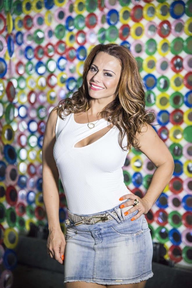 A atriz Viviane Araújo