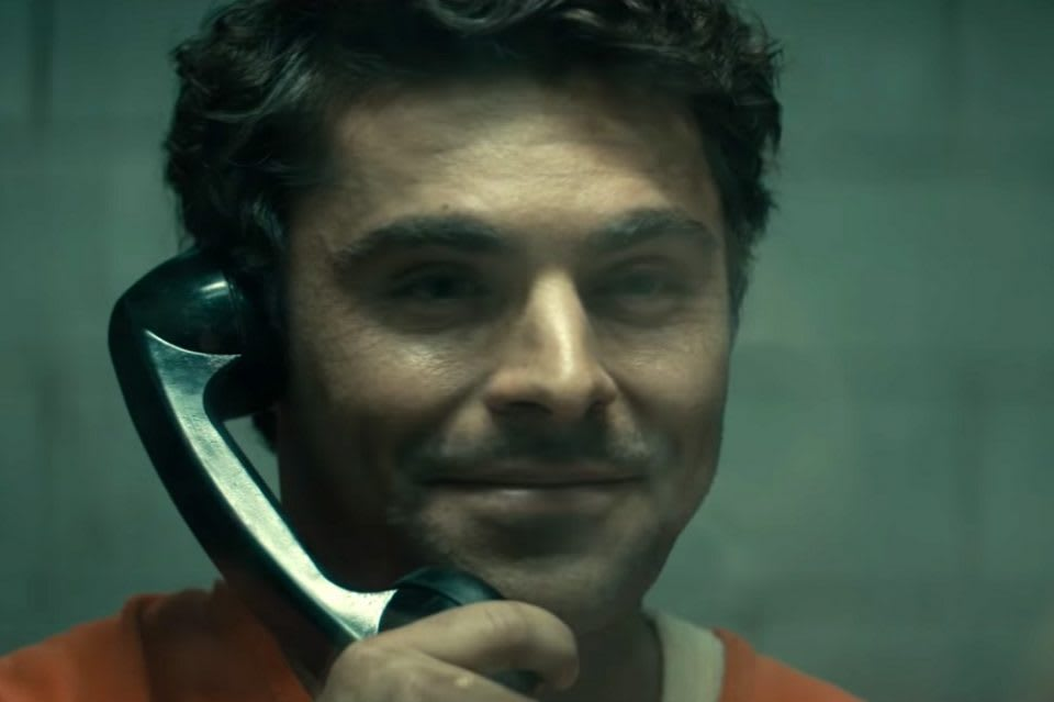 Zac Efron as Ted Bundy in Extremely Wicked, Shockingly Evil and Vile