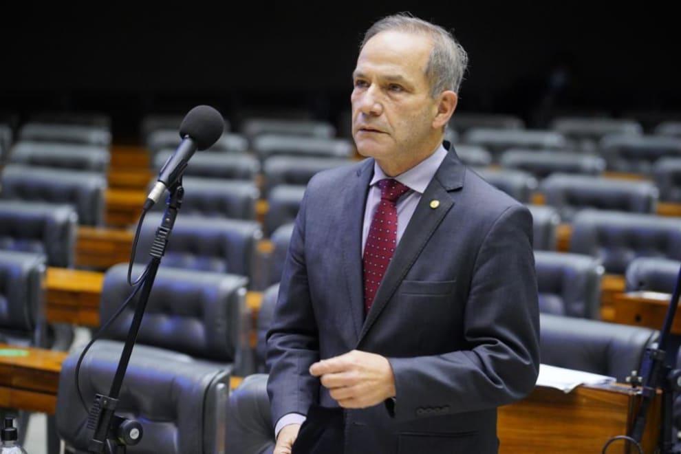 Dep. General Peternelli (PSL), que votou a favor da LDO