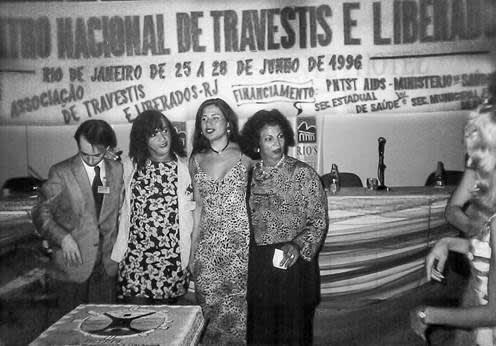 Imagem do IV Encontro de Travestis e Transexuais que aconteceu no hotel Rio's Presidente, no Rio de Janeiro.