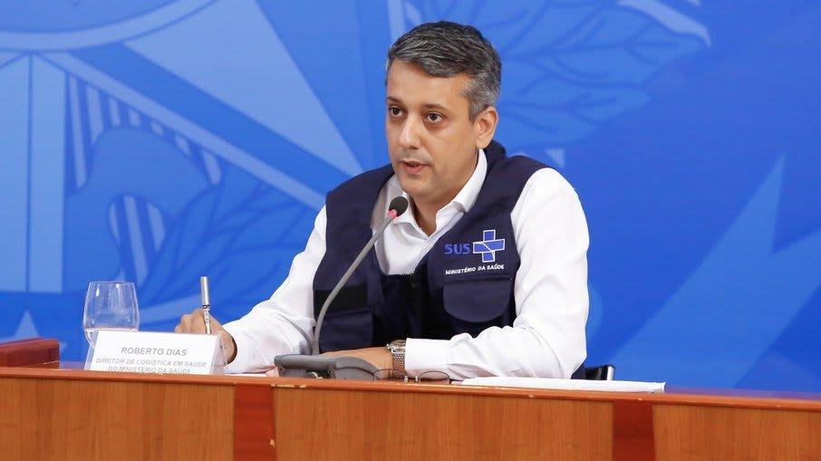 Roberto Dias, diretor de Logística do Ministério da Saúde