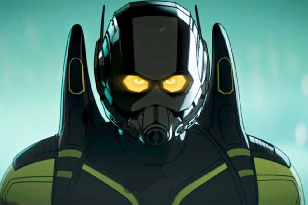 """Hank Pym vestido um traje de encolher em """"What If...""""."""