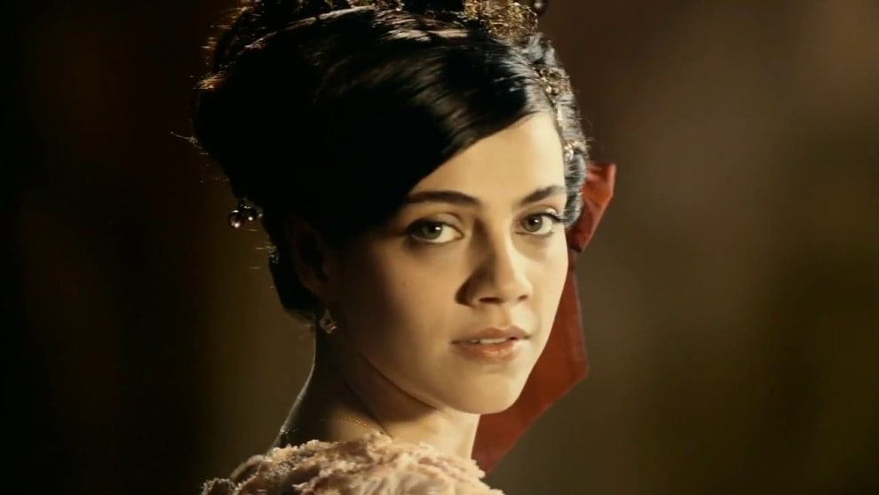 A atriz Letícia Persiles