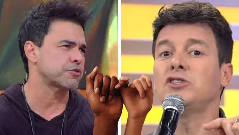 Zezé di Camargo e Rodrigo Faro