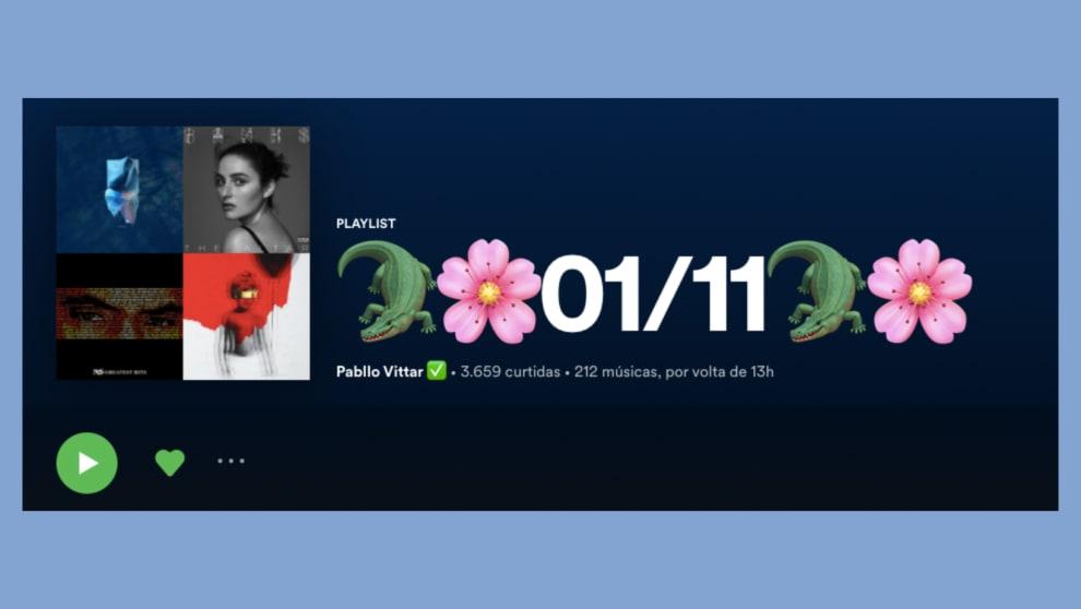 Print da playlist