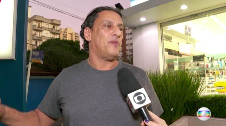 Wasef em entrevista á Globo