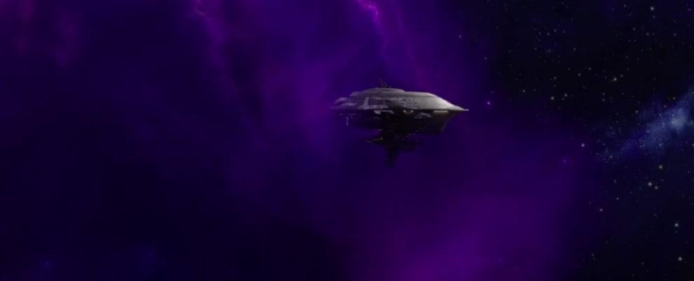 Axiom flutuando no espaço