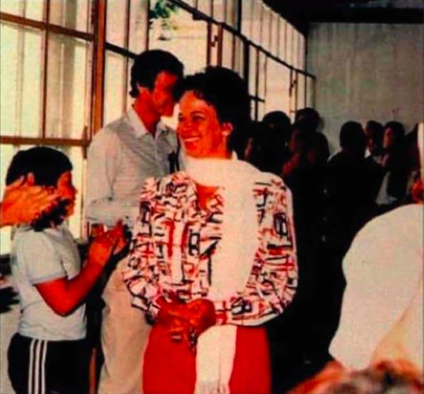 Valentina de Andrade nos anos 1990