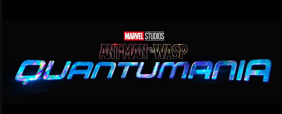 Logo de Homem Formiga e Vespa Quantumania