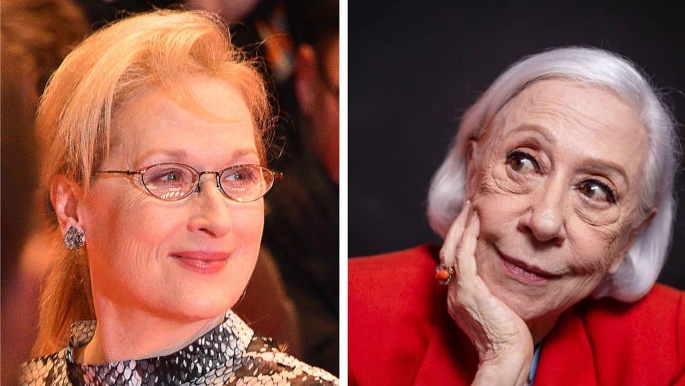Meryl Streep e Fernanda Montenegro
