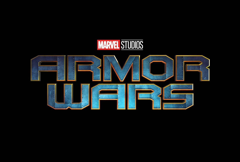 Poster com o logo de Armor Wars
