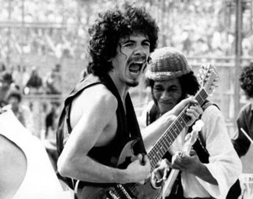 Santana no Festival Woodstock