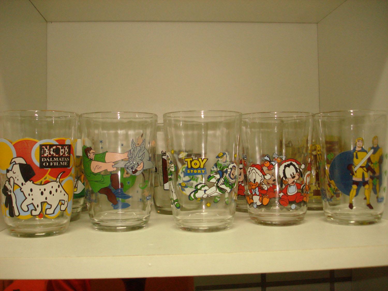 copos de requeijão da disney