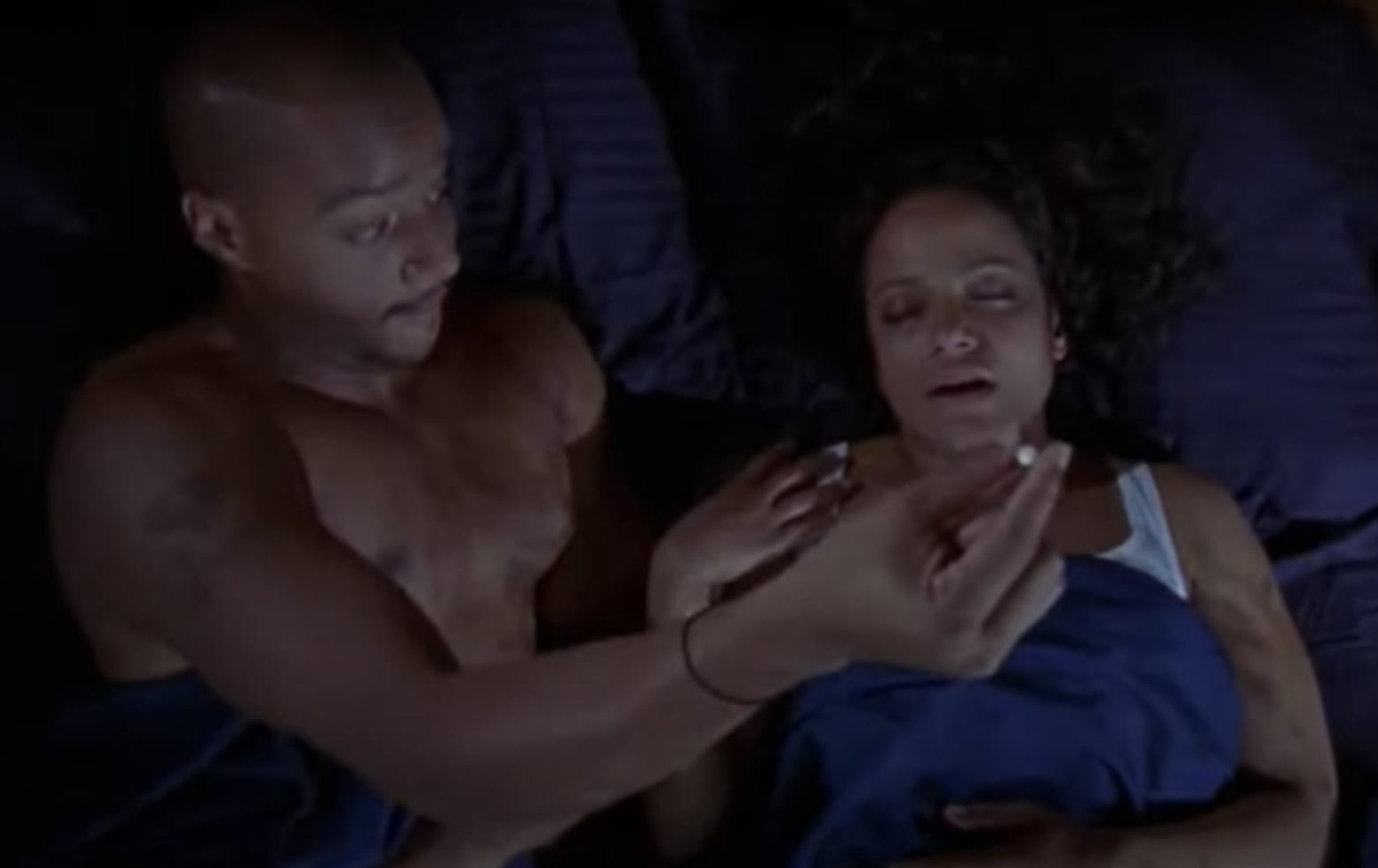 Turk in bed with Carla