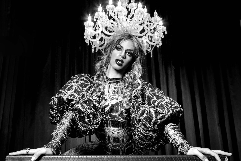 A drag queen Sasha Zimmer