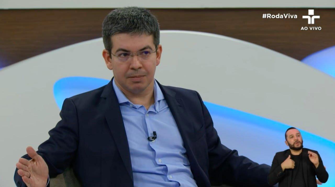O senador Randolfe Rodrigues