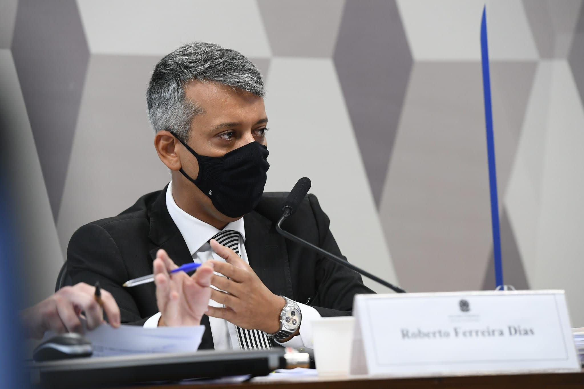 Roberto Dias na CPI