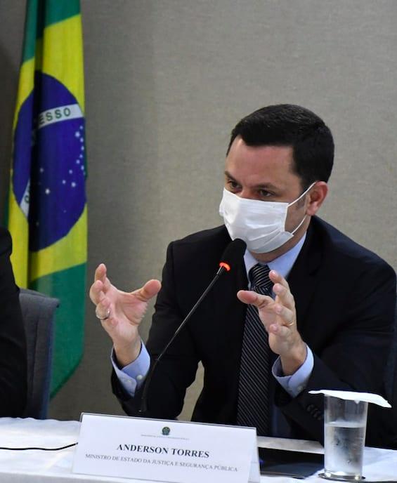 Anderson Torres, Ministro da Justiça e Segurança Pública