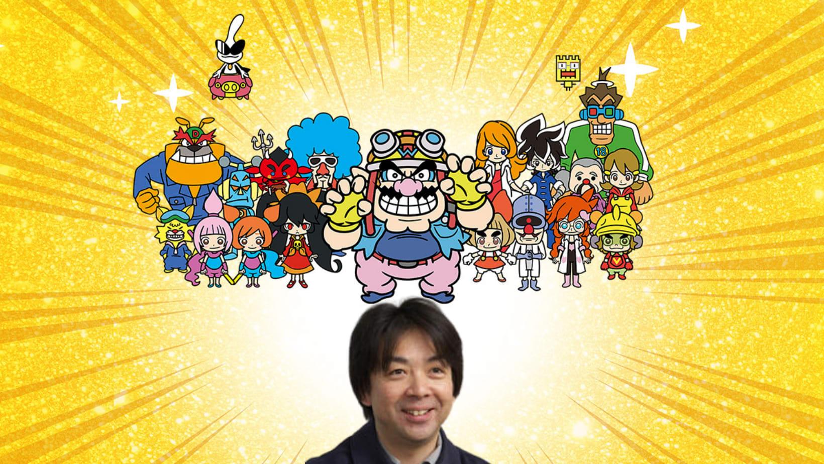 Ko a frente de seus personagens em Wario Ware