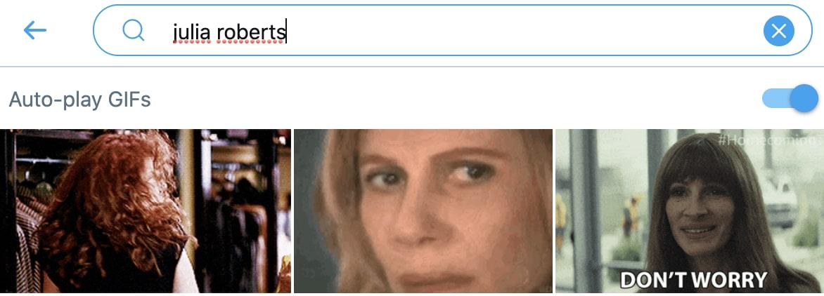 """Pesquisa no Twitter mostra o meme da Nazaré quando você buscar por """"julia roberts"""""""
