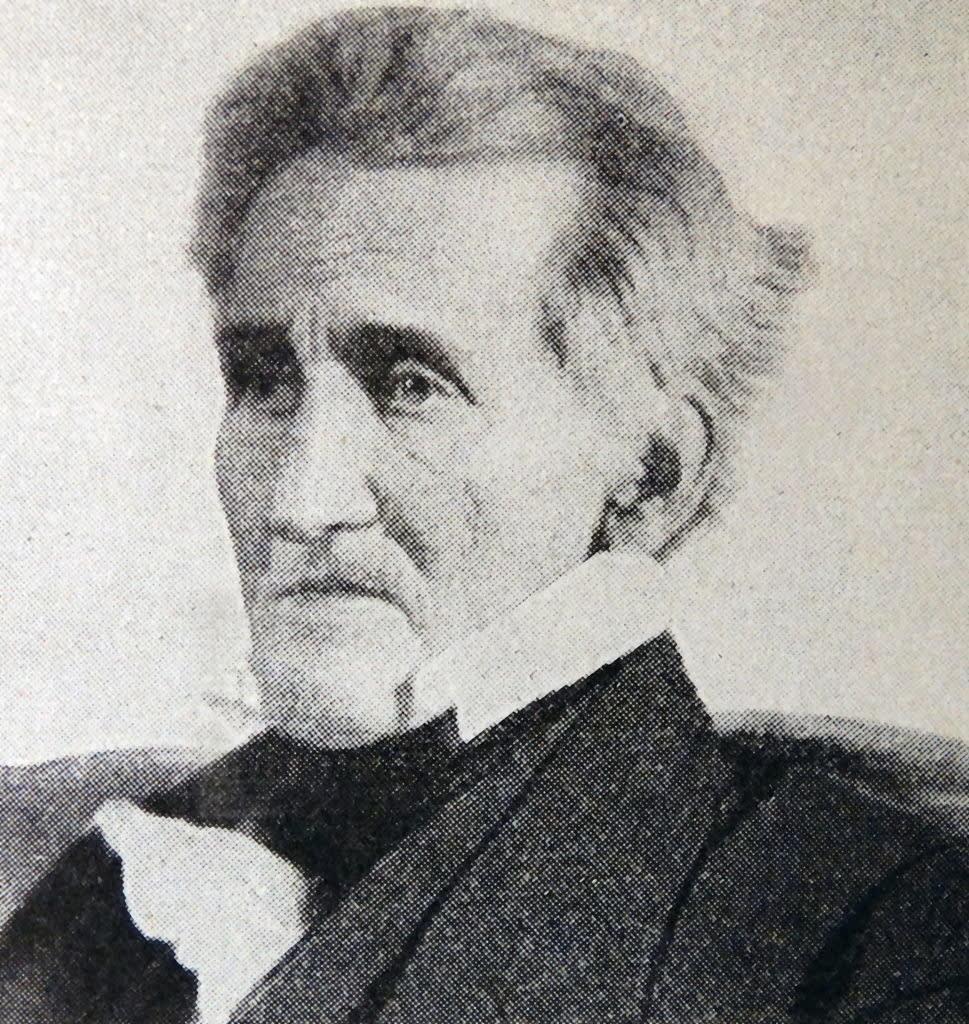 A portrait of Andrew Jackson