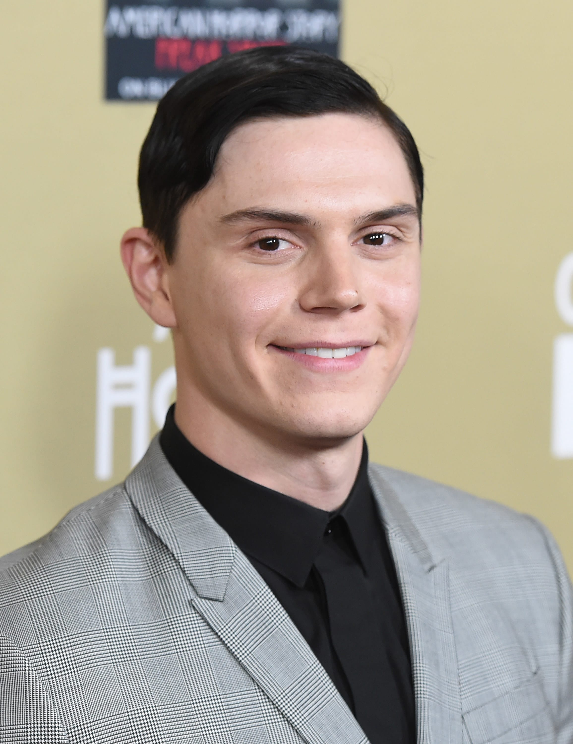 Evan Peters at the American Horror Story: Hotel premiere