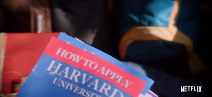 """A """"How to apply to Harvard University"""" college pamphlet."""