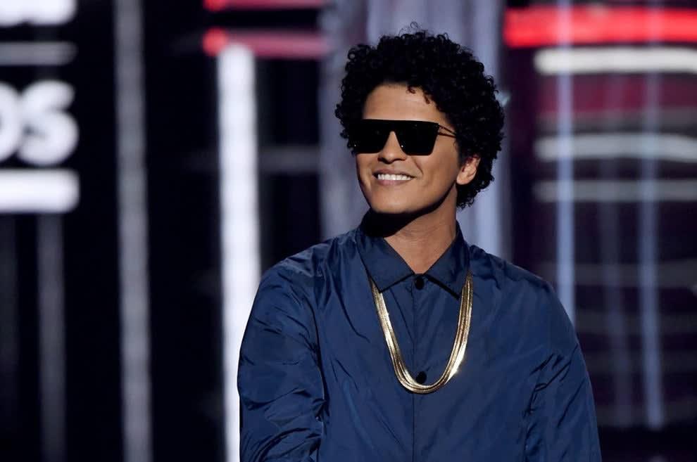 Bruno onstage