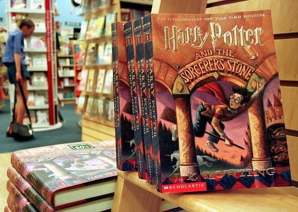 """Livros do """"Harry Potter"""""""