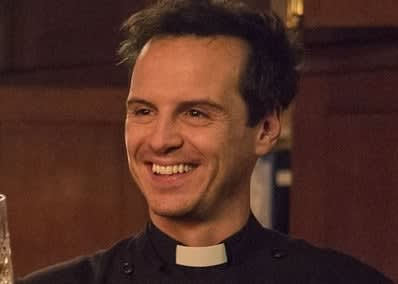 Andrew as the Hot Priest in Fleabag