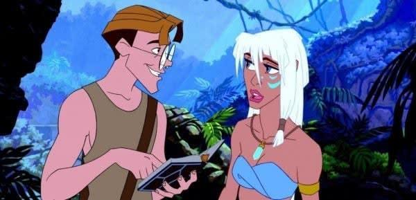 """Imagem do filme """"Atlantis: O Reino Perdido""""."""