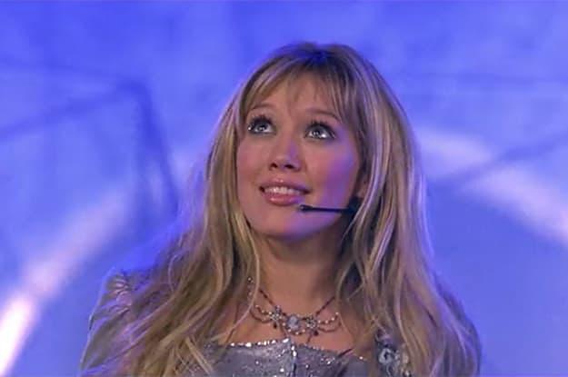 """Cena do filme """"Lizzie McGuire - Um Sonho PopStar""""."""
