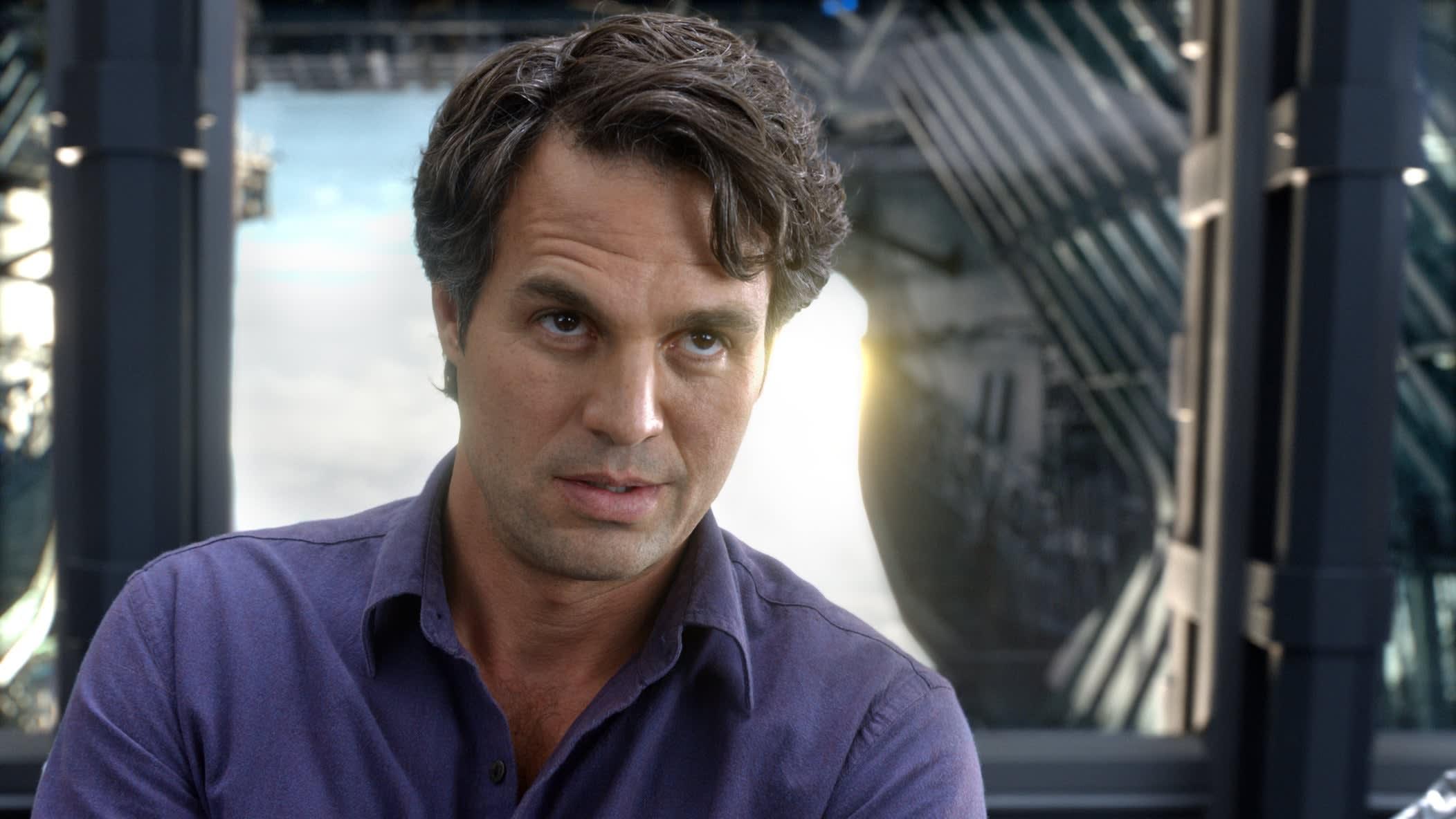 """Mark Ruffalo as Bruce Banner in """"The Avengers"""""""