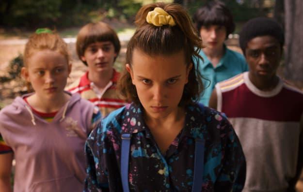 """Cena da série da Netflix """"Stranger Things""""."""