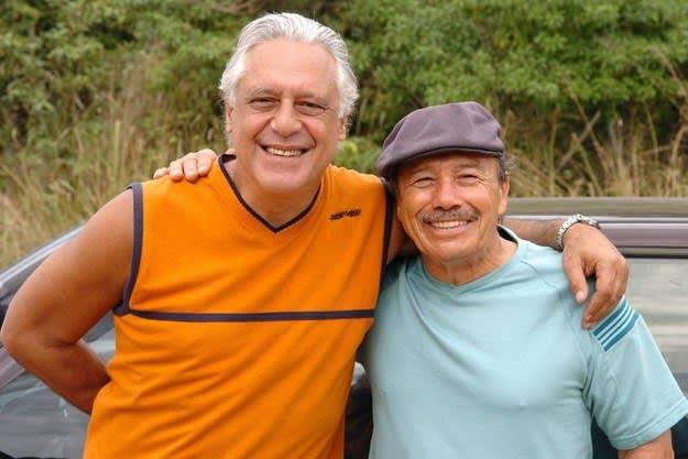 """Imagem de Pedro e Bino, da série """"Carga Pesada""""."""