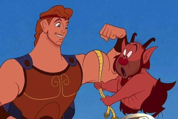 """Imagem do filme """"Hércules""""."""