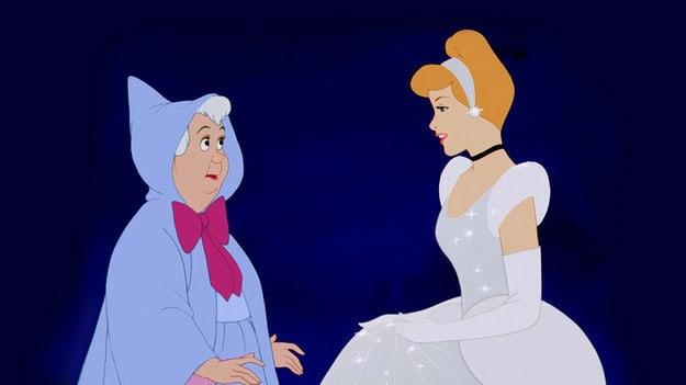 """Imagem do filme """"Cinderela""""."""