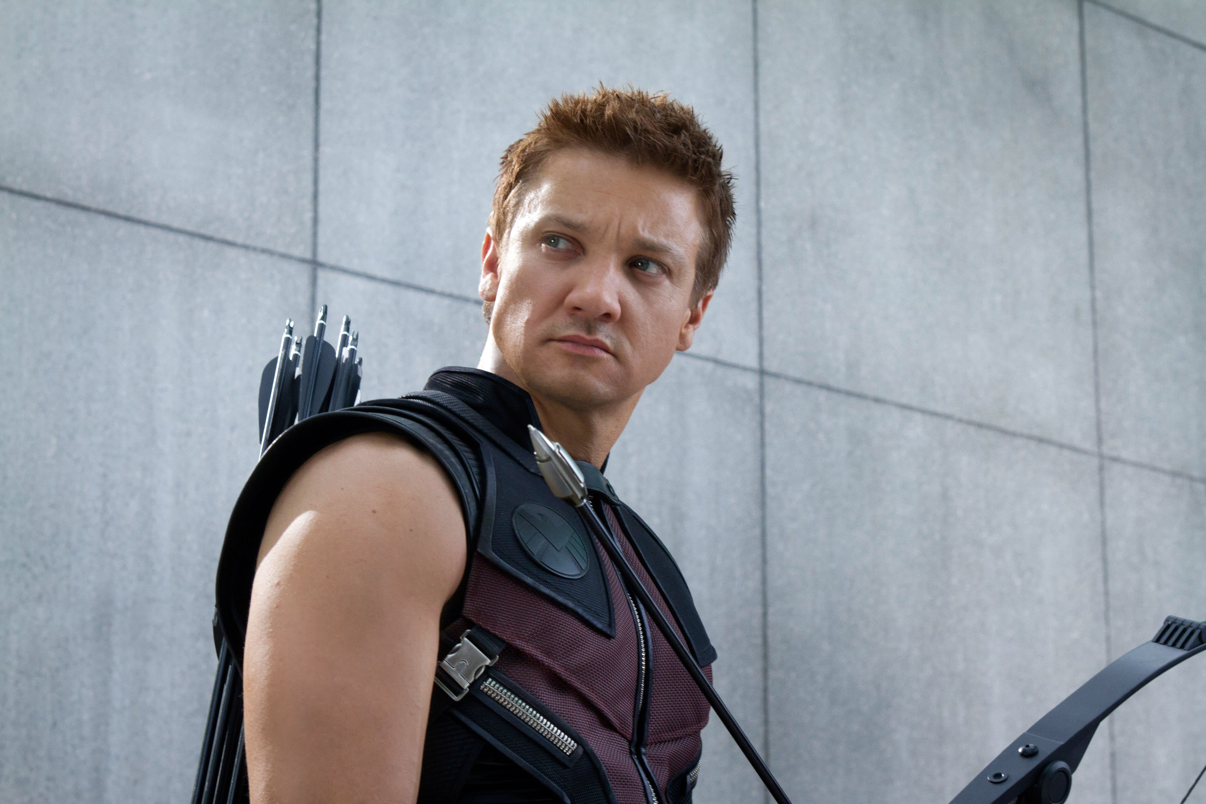 """Jeremy Renner as Clint Barton in """"The Avengers"""""""