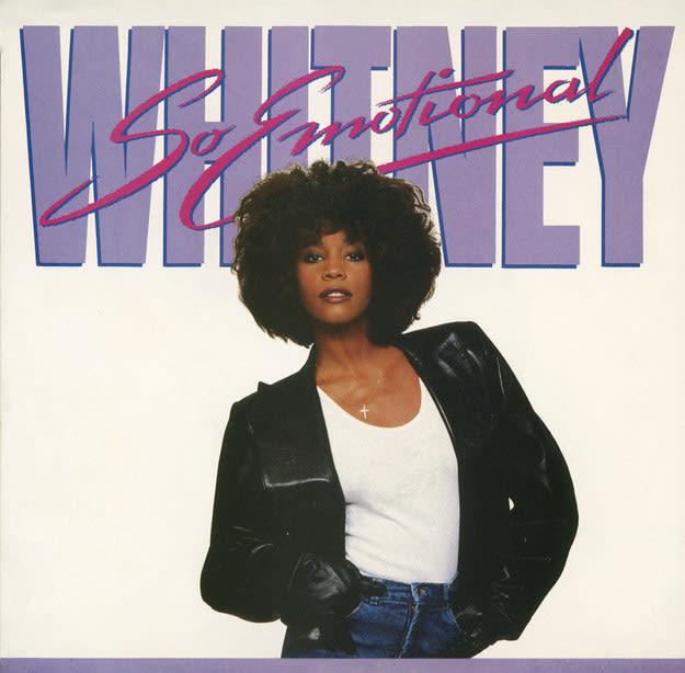 Whitney houston so emotional cover